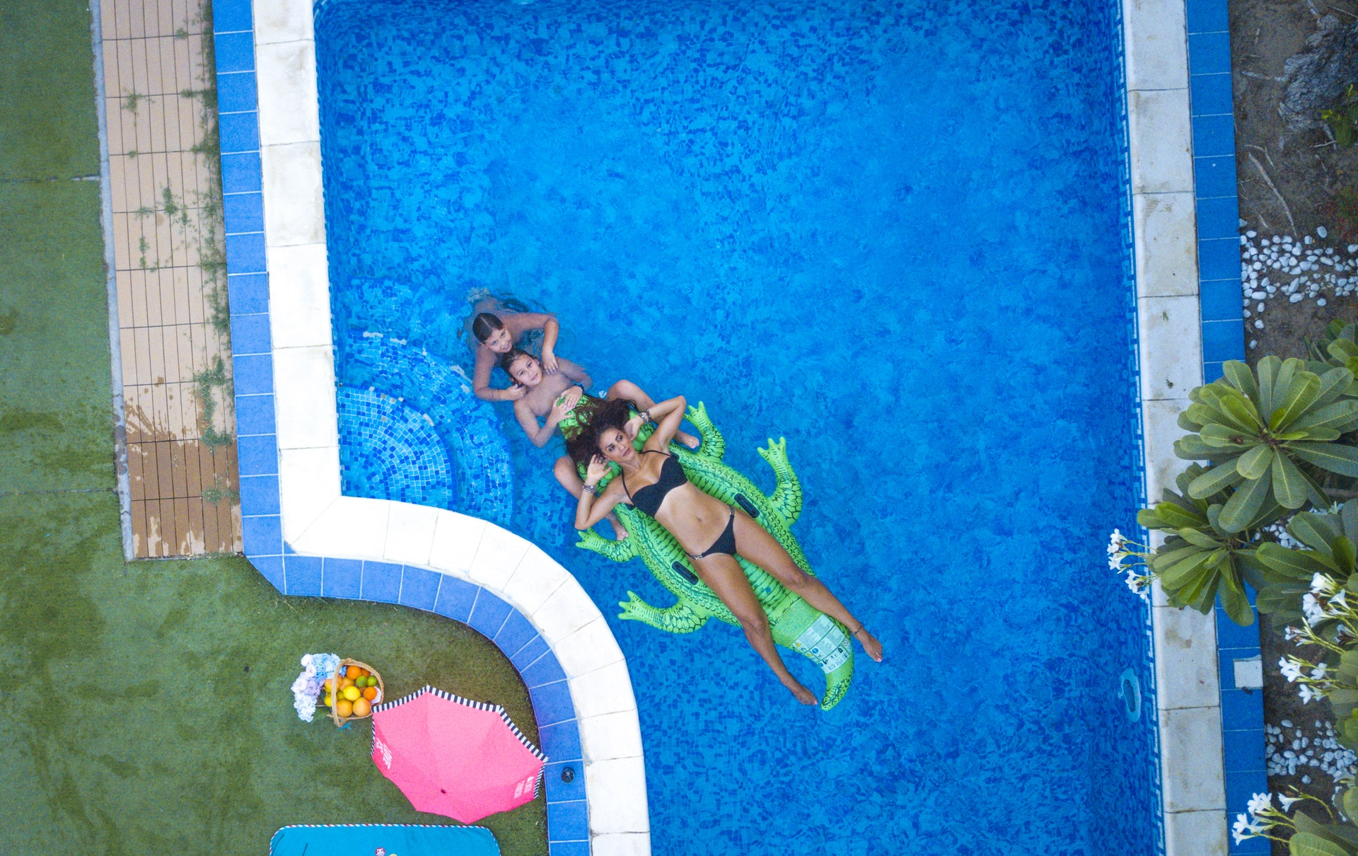 Taking Care Of The Lawn Around Your Pool Rivers Edge Turf